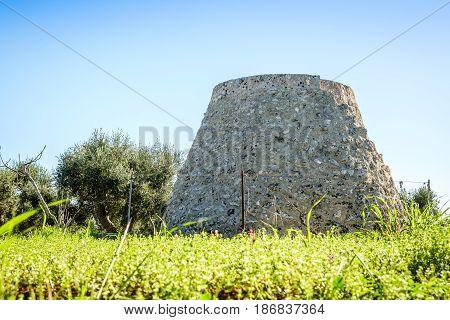 Old Trulli And Field Storeroom In Puglia, Italy