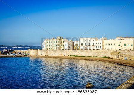Panorama Of Beautiful Gallipoli, Italy