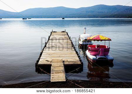 Peaceful Scenics Of Lake Yamanaka