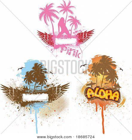 Tropical Set of Three
