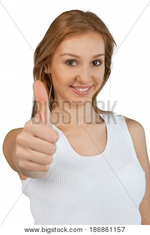 Smiling woman young woman attractive female young adult happy female