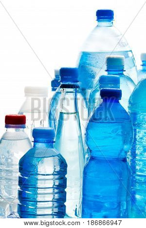Bottles plastic bottled water water bottles bottle of water mineral water bottled drink