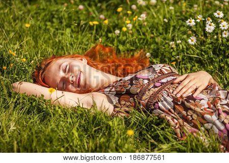 Dreaming In Summer Meadow