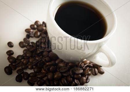 Coffee coffee cup coffee bean cup hot drink mug caffeine
