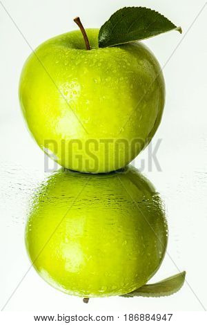 Apple fruit healthy lifestyle food snack green apple granny smith