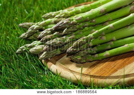 Asparagus vegetables healthy eat healthy eating green asparagus fresh asparagus lawn
