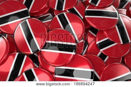 Trinidad And Tobago Badges Background
