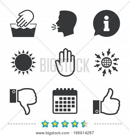 Hand Icons Like Vector Photo Free Trial Bigstock