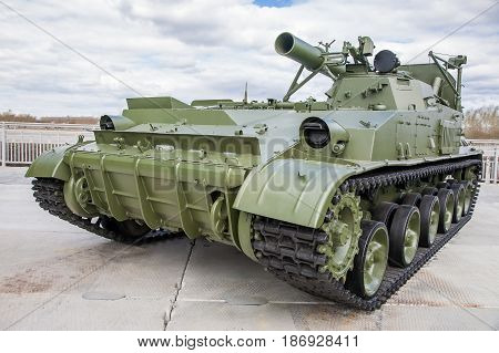 Self-propelled Mortar
