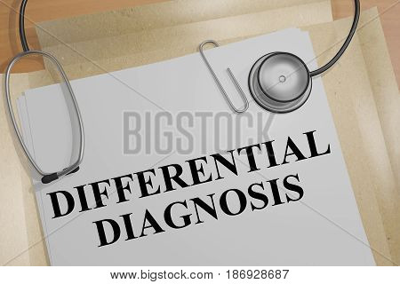Differential Diagnosis - Medical Concept