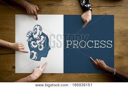Illustration of process planning development