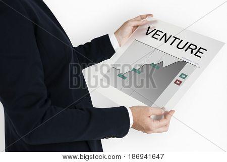 Investment Banking Money Management Concept
