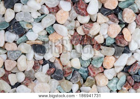 Decorative Colored Pebbles