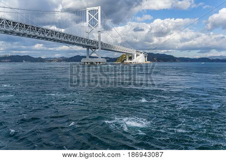 Onaruto Bridge and Whirlpool