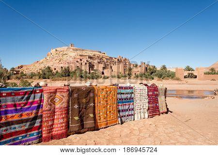 Kasbah Ait Ben Haddou in Ouarzazate Morocco