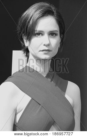 Katherine Waterston at the Los Angeles special screening of 'Alien: Covenant' held at the TCL Chinese Theatre IMAX in Hollywood, USA on May 17, 2017.