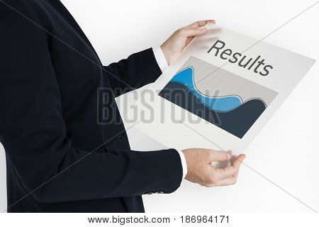 Data Analysis Results Summary Graph Chart Word Graphic