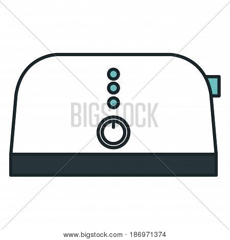 bread toaster isolated icon vector illustration design