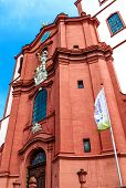 St. Blasius baroque parish church in Fulda, Germany poster