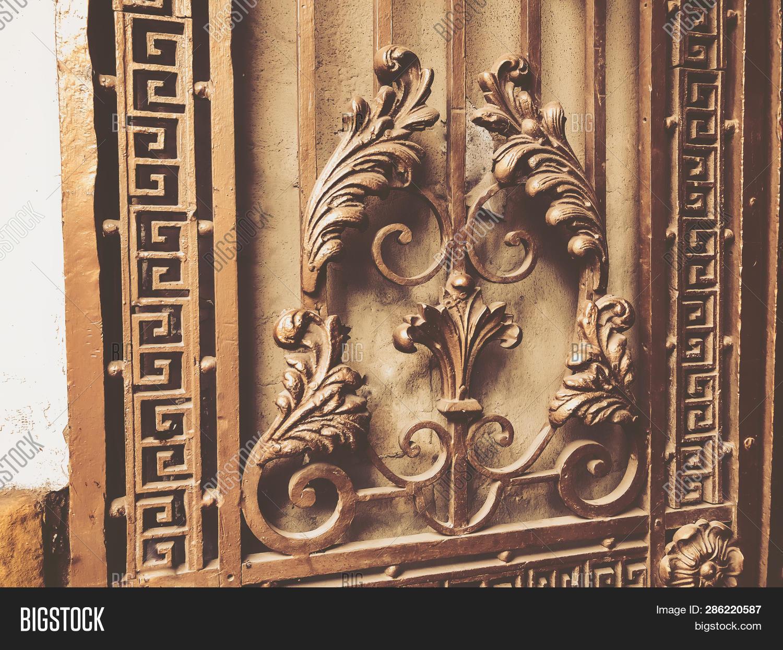 Ornament, Detail Iron Image & Photo (Free Trial)   Bigstock