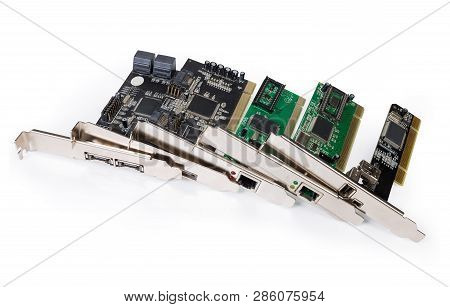 Different Used Controllers For Various Purposes Implemented As Internal Expansion Cards For Pci Bus