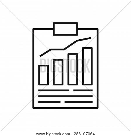 Result List Icon Isolated On White Background. Result List Icon In Trendy Design Style. Result List