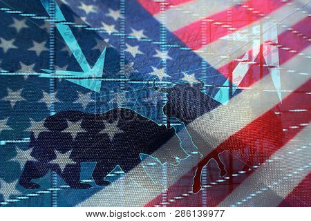 Investing In The United States Markets High Quality Stock Photo