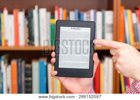 Library In Only One Digital Ebook Reader Device