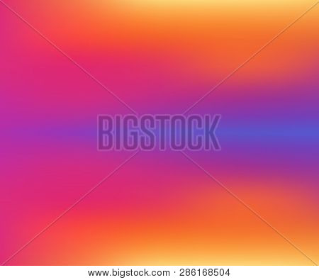 Modern Abstract Gradient Background, Bright Colors, Holography