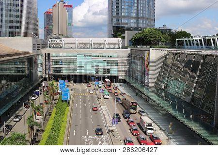 The Hong Kong Station At Central Hk 2017