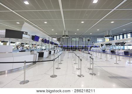 The Narita International Airport At 2016 Japan
