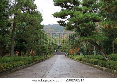 The Otani Sobyo At Kyoto At Japan