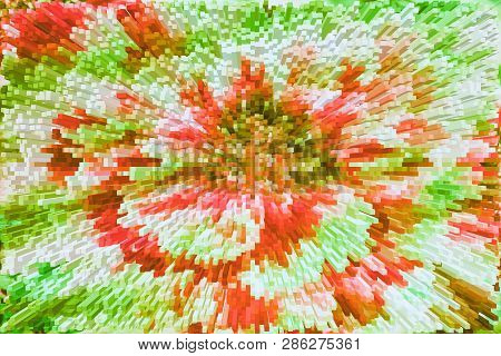 The Best Floral Extrusion Background For Your Design. Floral Background Abstraction. Beautiful Brigh