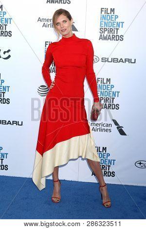 LOS ANGELES - FEB 23:  Malgorzata Bela at the 2019 Film Independent Spirit Awards on the Beach on February 23, 2019 in Santa Monica, CA