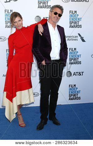 LOS ANGELES - FEB 23:  Malgorzata Bela, Pawe? Pawlikowski at the 2019 Film Independent Spirit Awards on the Beach on February 23, 2019 in Santa Monica, CA