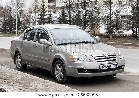 Ufa, Russia - April 12, 2012: Motor Car Vortex Estina In The City Street.