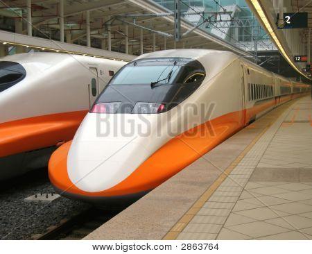 High Speed Train Engine