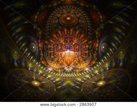 Optical Art Home Of The Buddah