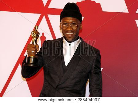 Mahershala Ali at the 91st Annual Academy Awards - Press Room held at the Hollywood and Highland in Los Angeles, USA on February 24, 2019.