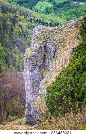Mountainous Landscape At Klak Hill, Lucanska Mala Fatra Mountain, Slovakia, Europe.