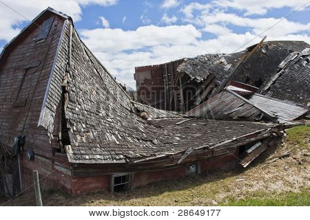 Natures Toll on a Barn