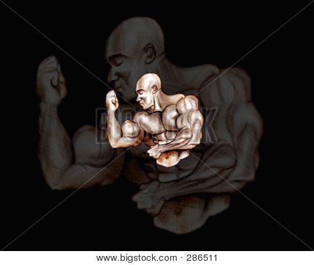 Bodybuilder Flex
