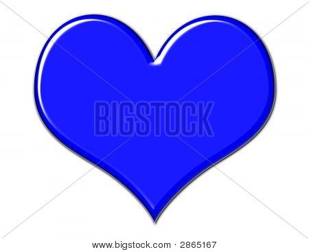Gorgeous Blue Heart
