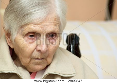 Portrait Of The Old Woman.
