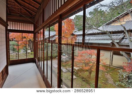 An Autumn In The Shinnyo Do Temple In Kyoto