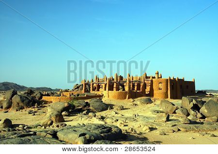 Large Mud Brick House Near Iferouane In Niger