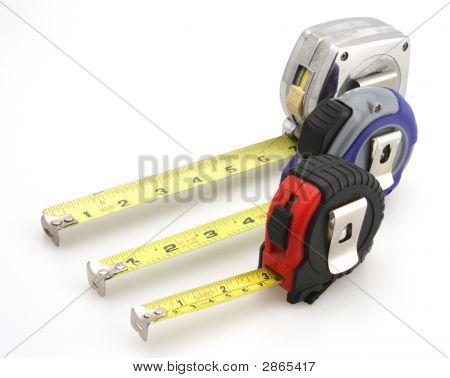 Three Tape Measure