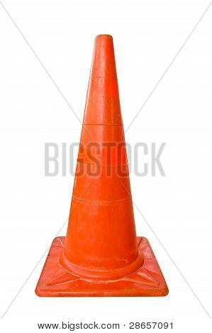 The Orange Plastic Cone