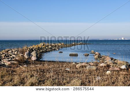 Coastal Spring Season View From The Swedish Island Oland In The Baltic Sea