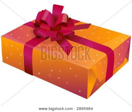 A Gift With Ribbon